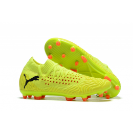 PM Future Netfit Griezmann 19.1 FG Soccer Cleats-Fluorescence Green