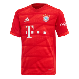 19-20 Bayern Munich Home Red Jerseys Shirt,