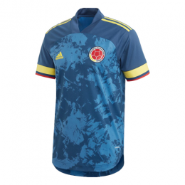 2020 Colombia Away Navy Soccer Jerseys Shirt(Player Version)