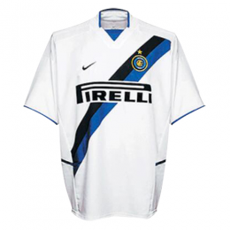 02/03 Inter Milan Away White Retro Jerseys Shirt