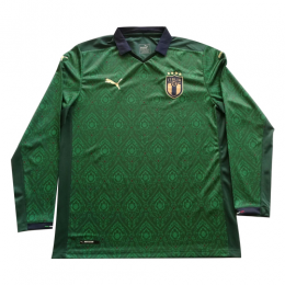 19/20 Italy Third Away Green Long Sleeve Jerseys Shirt