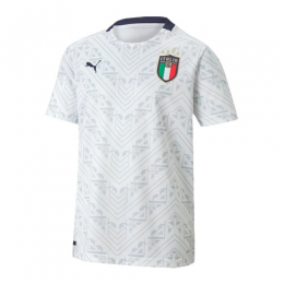 2020 Italy Away White Soccer Jerseys Shirt(Player Version)	