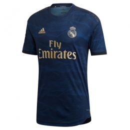 19-20 Real Madrid Away Navy Soccer Jerseys Kit(Shirt+Short+Socks)