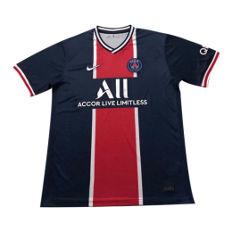 20/21 PSG Home Navy&Red Soccer Jerseys Shirt,