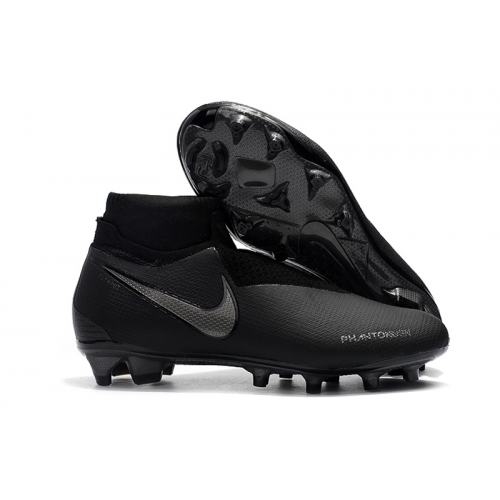 NK Phantom VSN Shadow Elite DF FG Soccer Cleats-Black