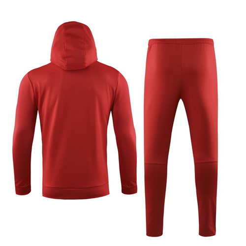 19/20 Liverpool Red Hoody Sweat Shirt Kit(Top+Trouser)