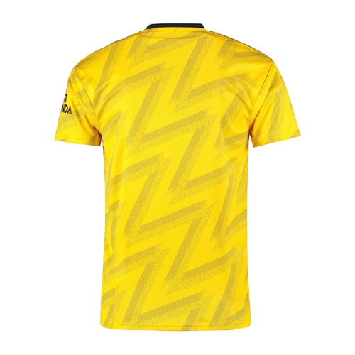 19-20 Arsenal Away Yellow Soccer Jerseys Shirt