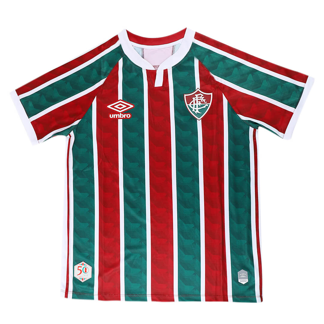 20/21 Fluminense FC Home Green&Red Soccer Jerseys Shirt