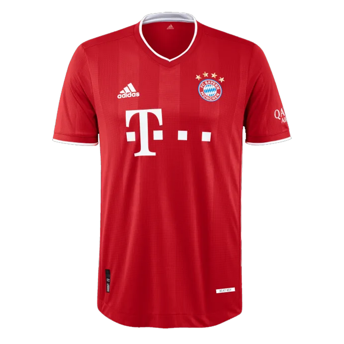 20/21 Bayern Munich Home Red Jerseys Shirt(Player Version)