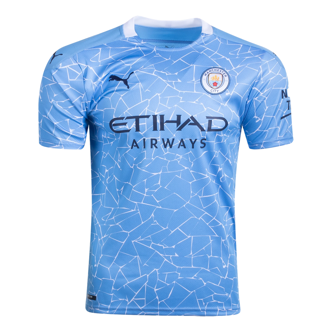 20/21 Manchester City Home Blue Jerseys Shirt