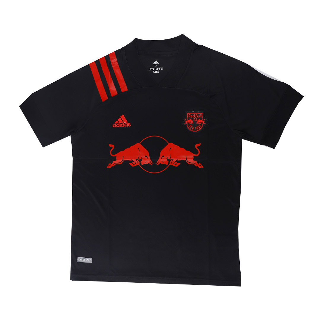2020 New York Red Bulls Away Black Soccer Jerseys Shirt