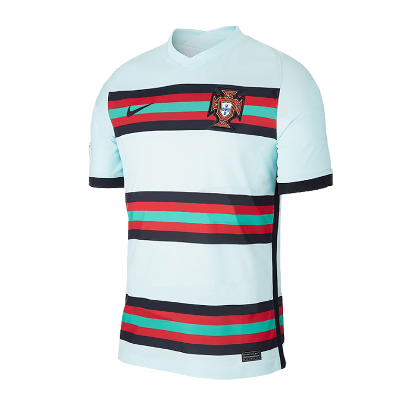 2020 Portugal Away Light Blue Jerseys Shirt(Player Version)