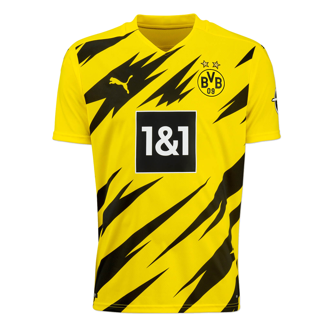 20/21 Borussia Dortmund Home Yellow Soccer Jerseys Shirt