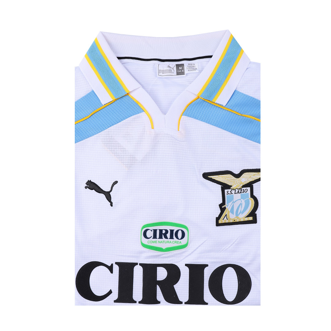 99/00 Lazio Away White Retro Soccer Jerseys Shirt
