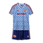 Manchester United Away Jersey Kit 1990/92 By Adidas - Youth