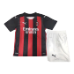 AC Milan Home Jersey Kit 2020/21 By Puma - Youth