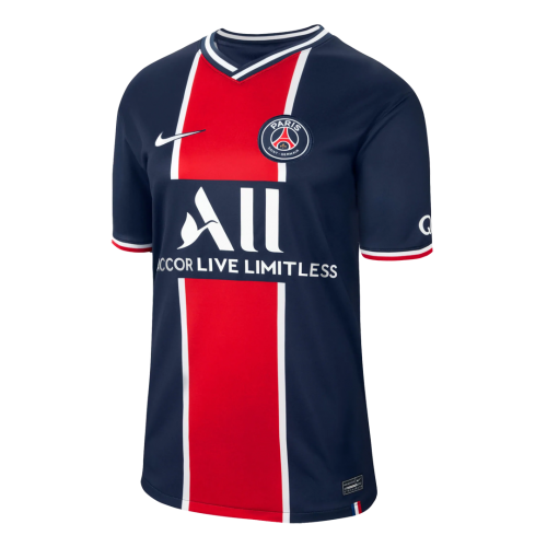 20/21 PSG Home Navy&Red Soccer JerseysWhole Kit(Shirt+Short+Socks)