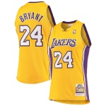Los Angeles Lakers Authentic Gold NBA Jersey 2008/09 By Mitchell & Ness