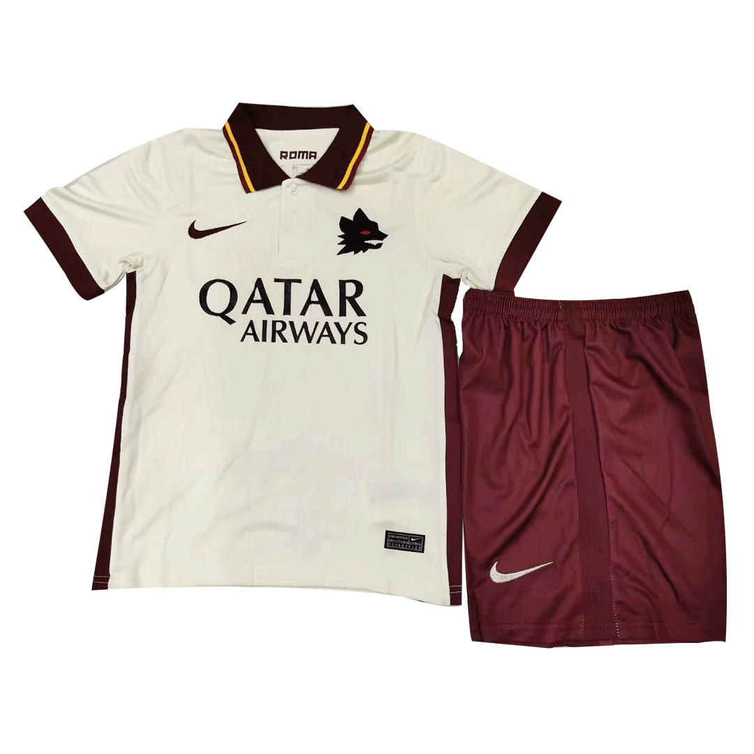 Roma Away Jersey Kit 2020/21 By Nike - Youth