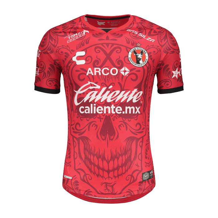 20/21 Club Tijuana Specical Edition Day of The Dead Red Jerseys Shirt