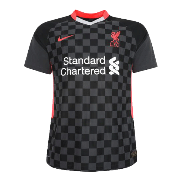 20/21 Liverpool Third Away Black Soccer Jerseys Shirt