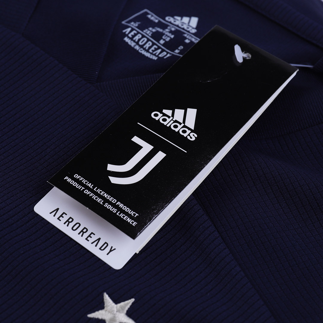 20/21 Juventus Away Navy Soccer Jerseys Shirt