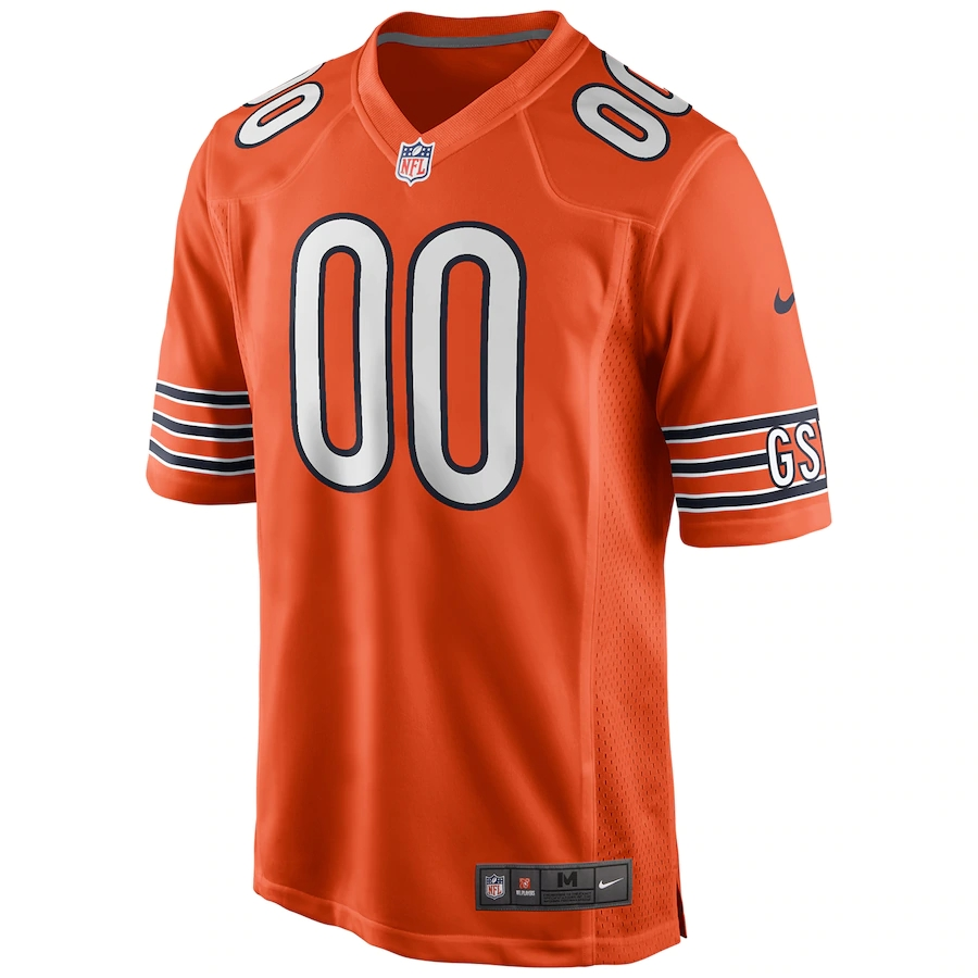 Men's Chicago Bears Nike Orange Alternate Vapor Limited Jersey