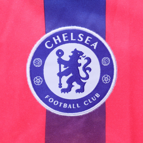 20/21 Chelsea Third Away Red Soccer Jerseys Kit(Shirt+Short)