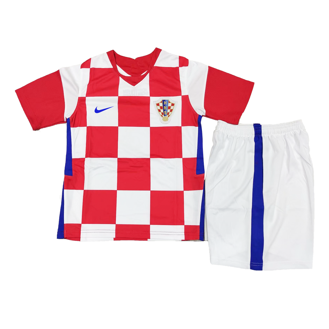Croatia Home Jersey Kit 2021 By Nike - Youth