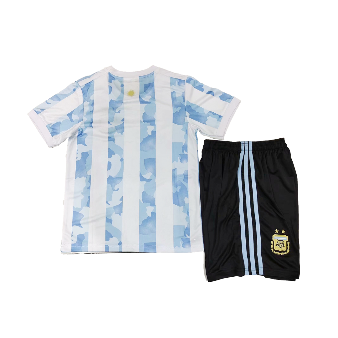 Argentina Home Jersey Kit 2021 By Adidas - Youth