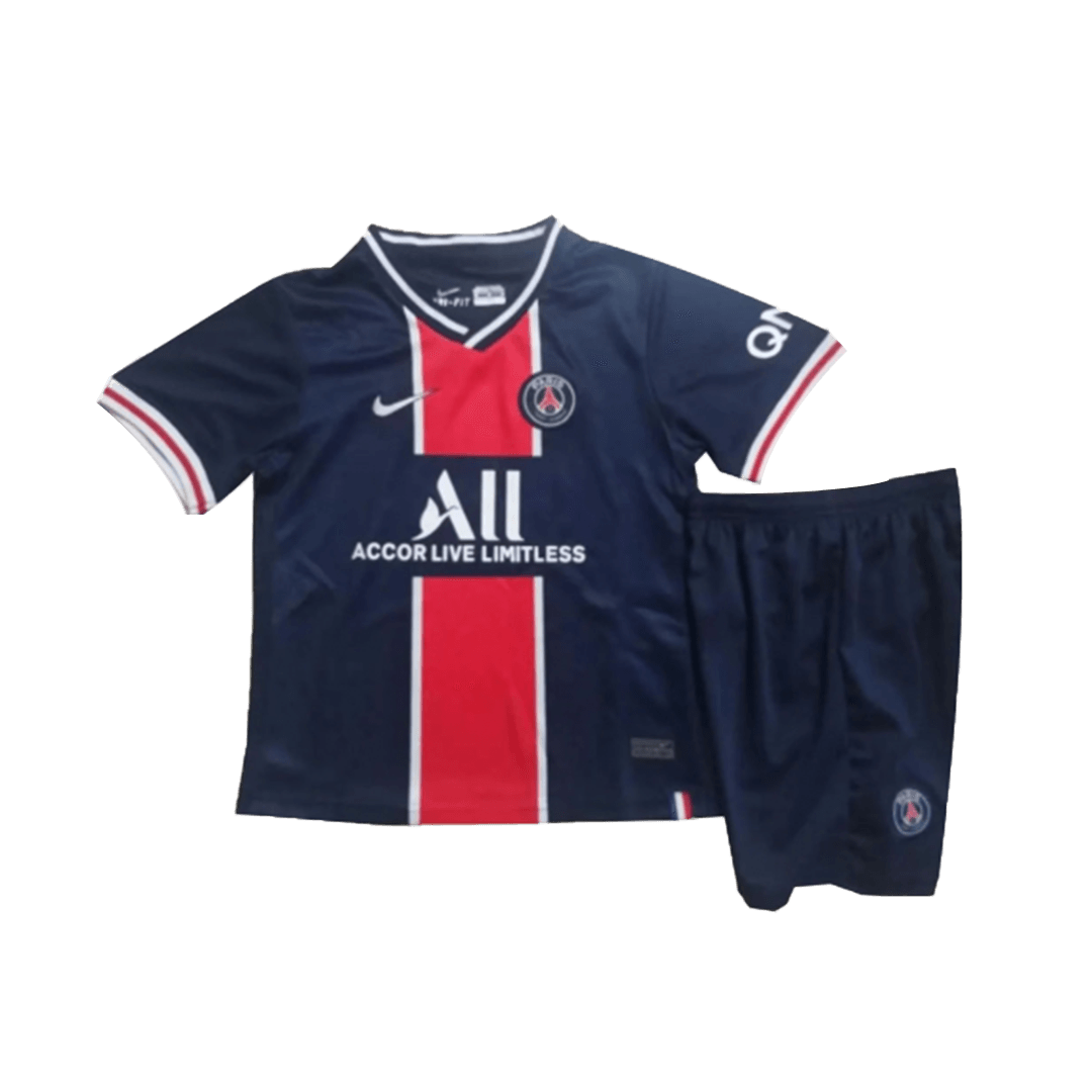 PSG Home Jersey Kit 2020/21 By Nike - Youth