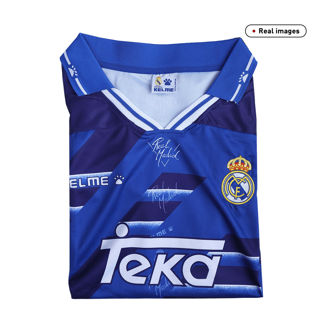 Real Madrid Away Jersey Retro 1994/96 By Adidas