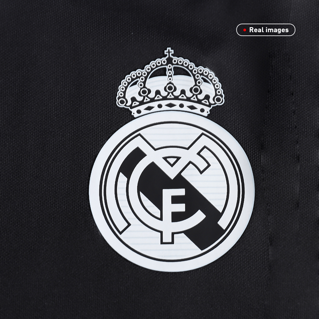 Real Madrid Away Jersey Retro 2014/15 By Adidas - Long Sleeve