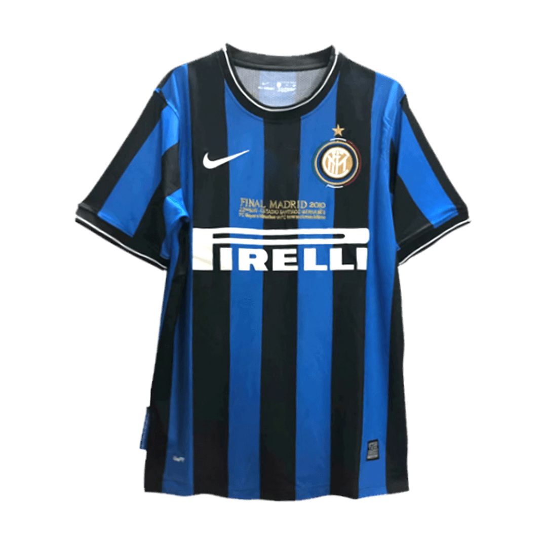 Inter Milan Home Jersey Retro 2009/10 By Nike
