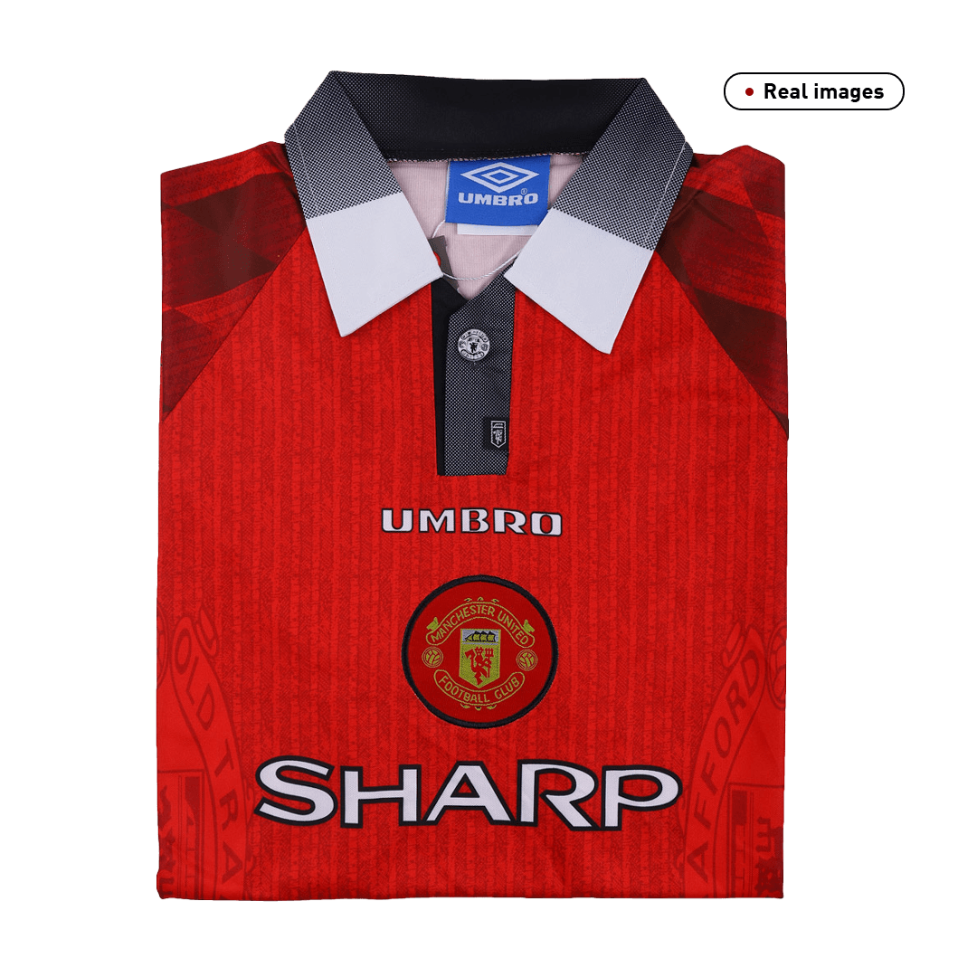 Manchester United Home Jersey Retro 1996/97 By Umbro