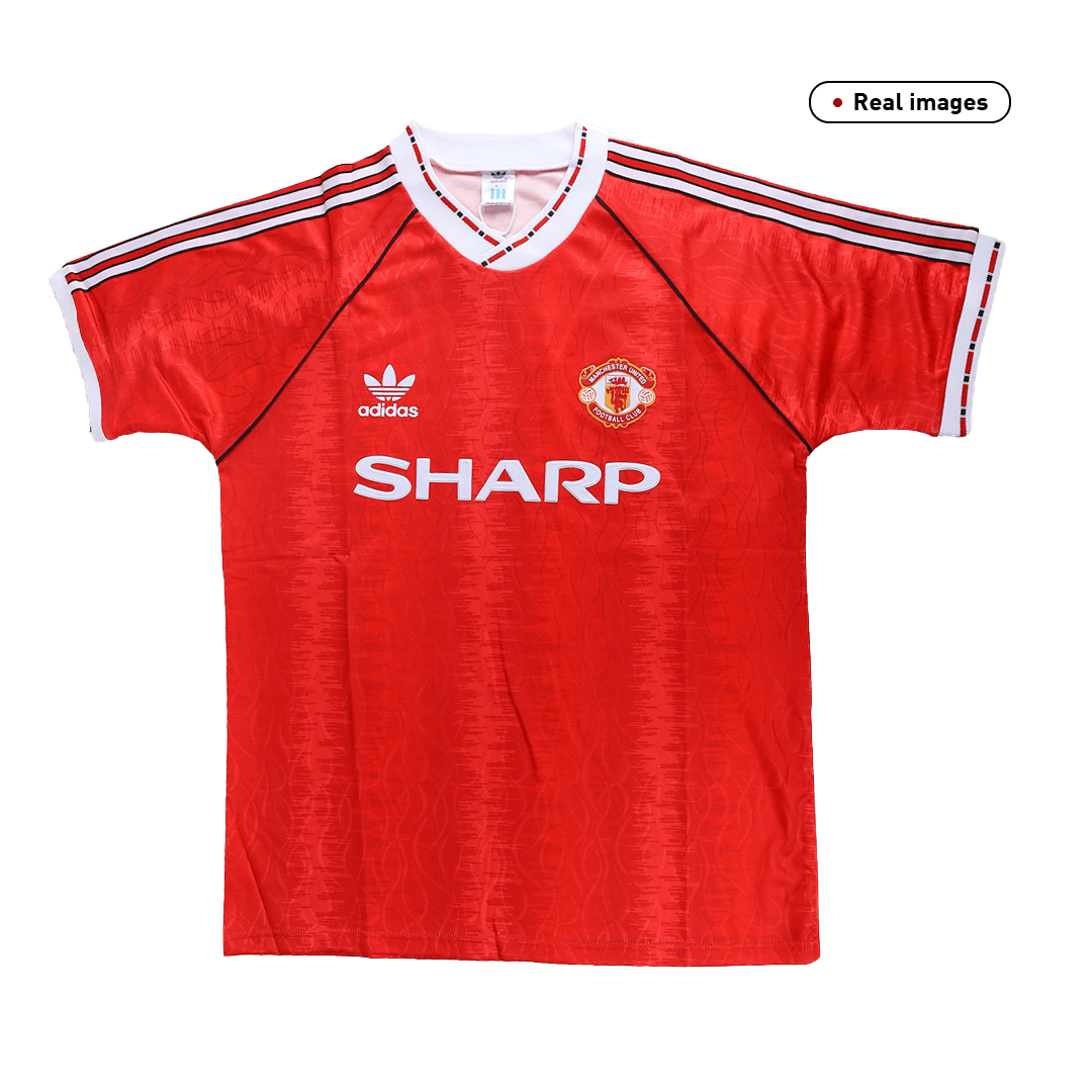 Manchester United Home Jersey Retro 1990/92 By Adidas