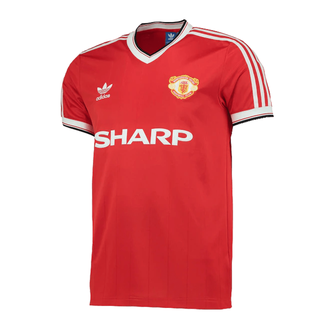 Manchester United Home Jersey Retro 1982/84 By Adidas
