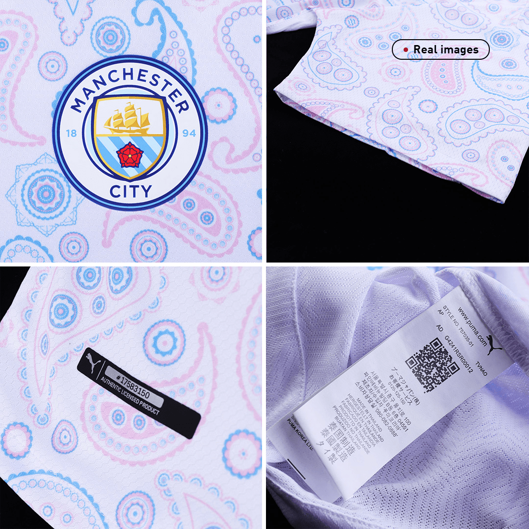 Manchester City Authentic Third Away Jersey 2020/21 By Puma