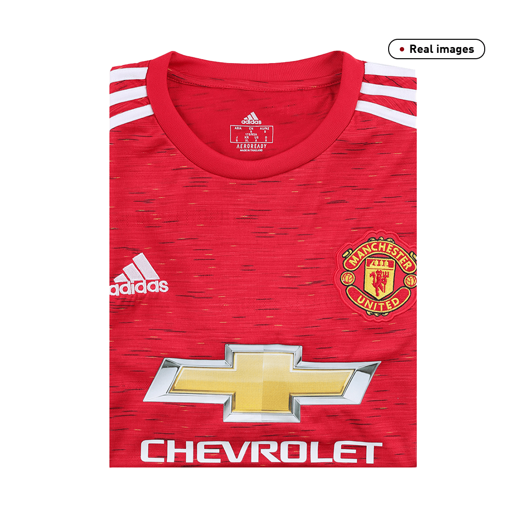 Manchester United Home Jersey 2020/21 By Adidas