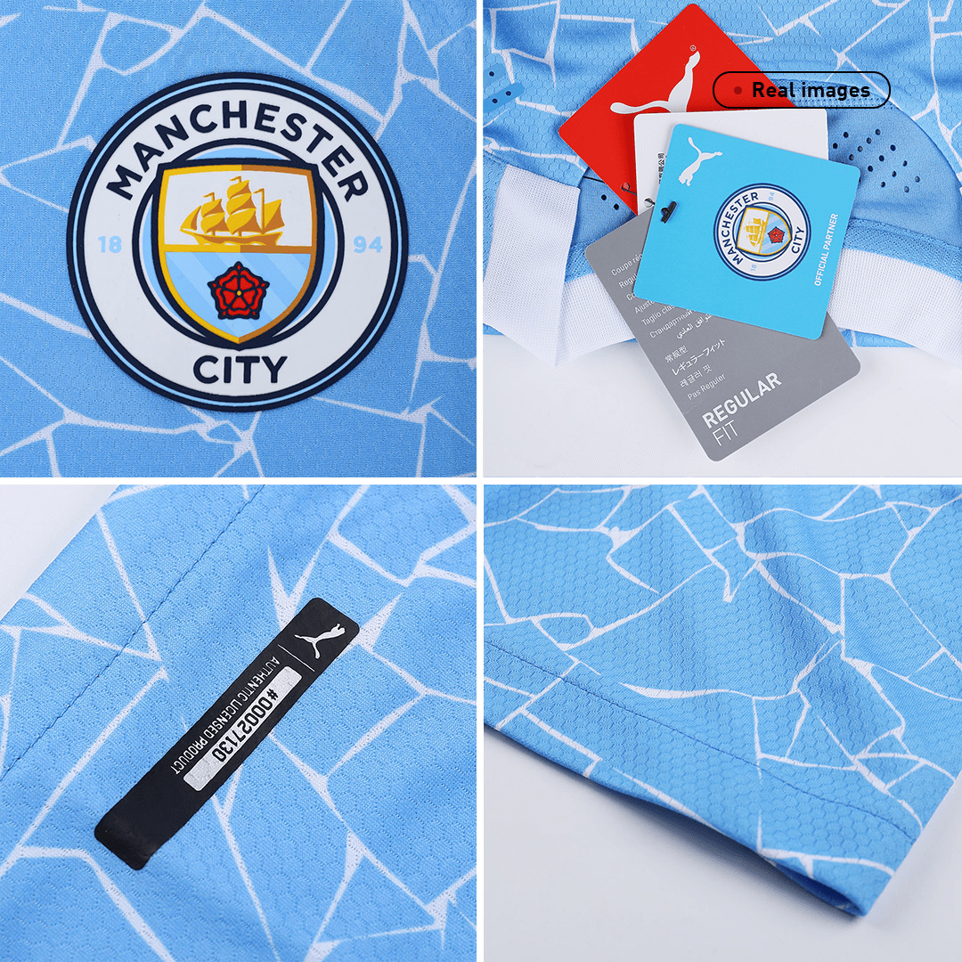 Manchester City Authentic Home Jersey 2020/21 By Puma