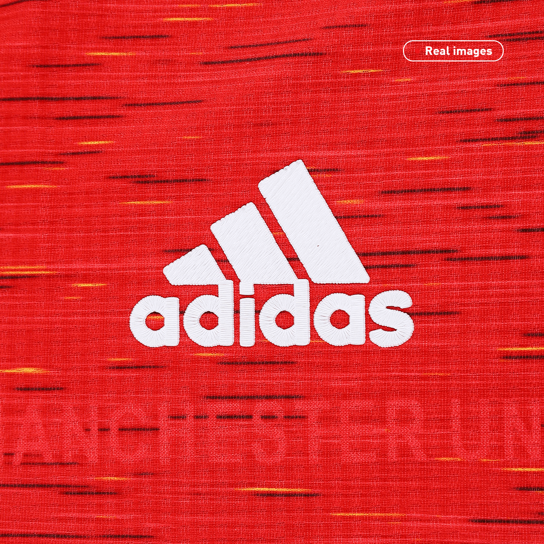 Manchester United Authentic Home Jersey 2020/21 By Adidas