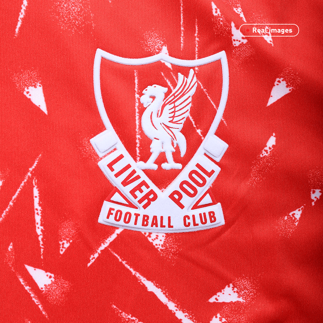 Liverpool Home Jersey Retro 1989/91 By Adidas