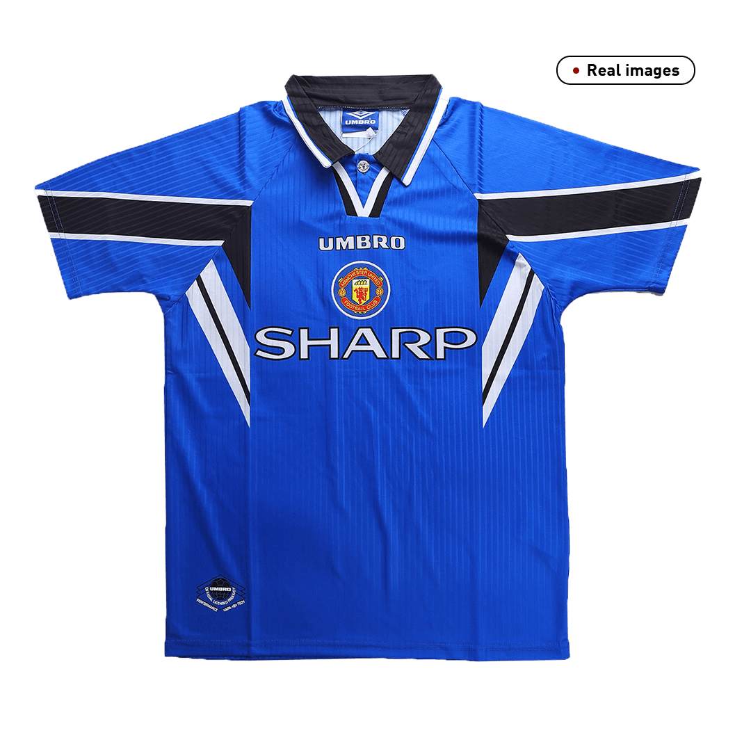 Manchester United Third Away Jersey Retro 1996/97 By Umbro