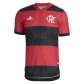 CR Flamengo Authentic Home Jersey 2021/22 By Adidas