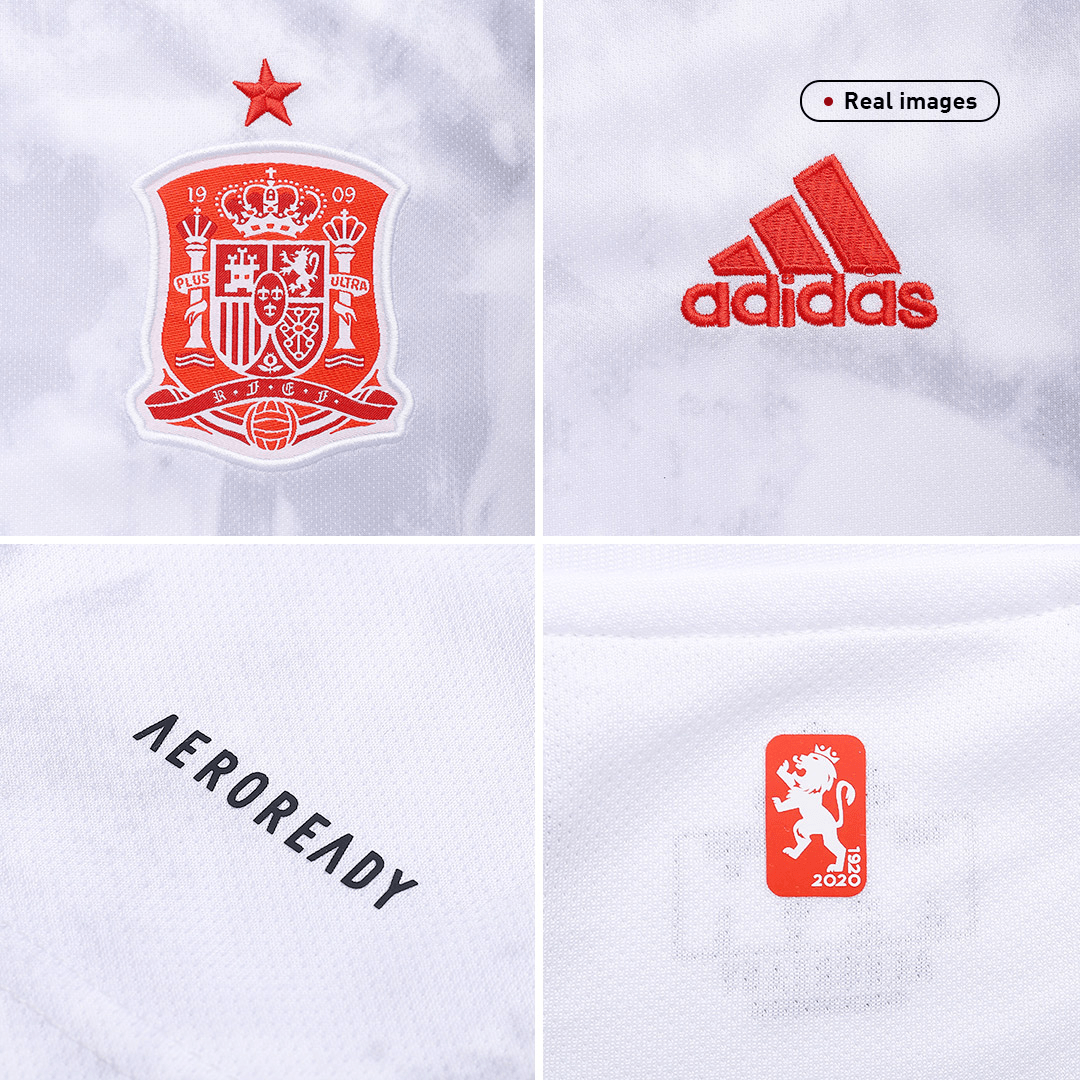 Spain Away Jersey 2020 By Adidas