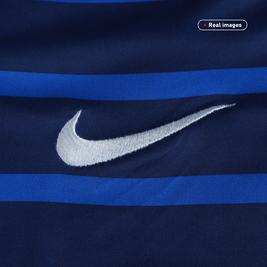 France Authentic Home Jersey 2020 By Nike