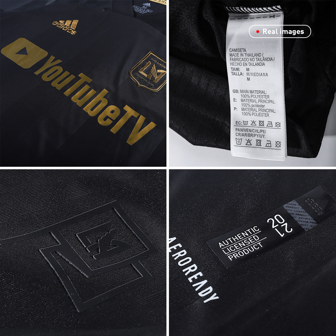 Los Angeles FC Authentic Home Jersey 2020 By Adidas