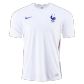 France Authentic Away Jersey 2020 By Nike