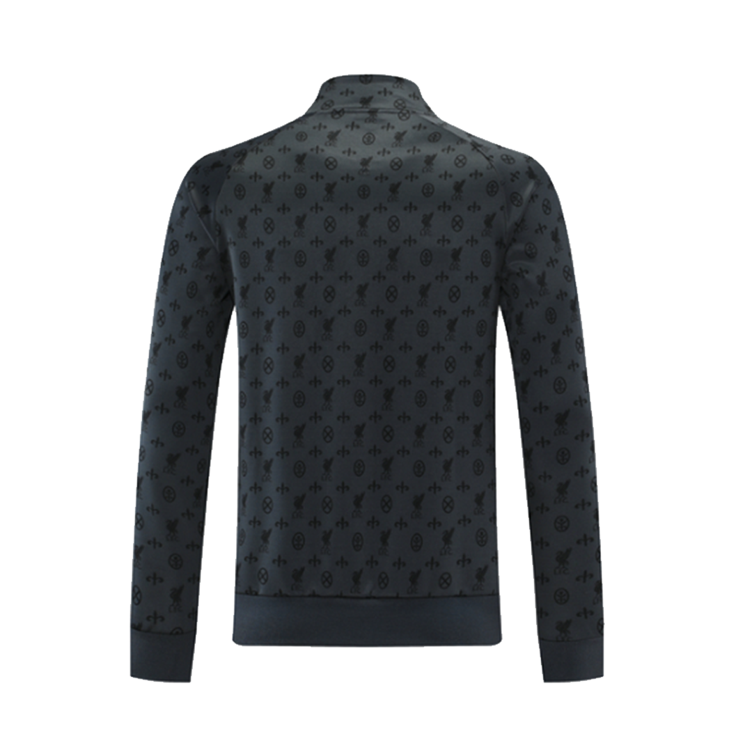 Liverpool Traning Jacket 2021/22 By Nike - Gray