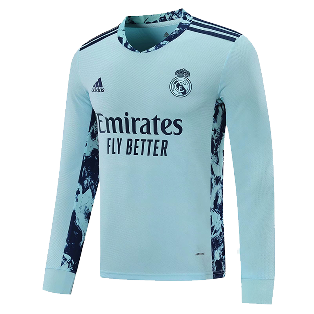 Real Madrid Goalkeeper Jersey 2020/21 By Adidas - Long Sleeve